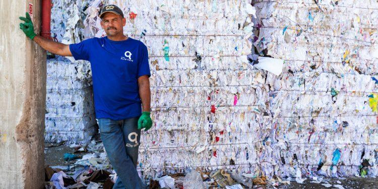 Indústria financia a reciclagem de 1800 toneladas de plástico